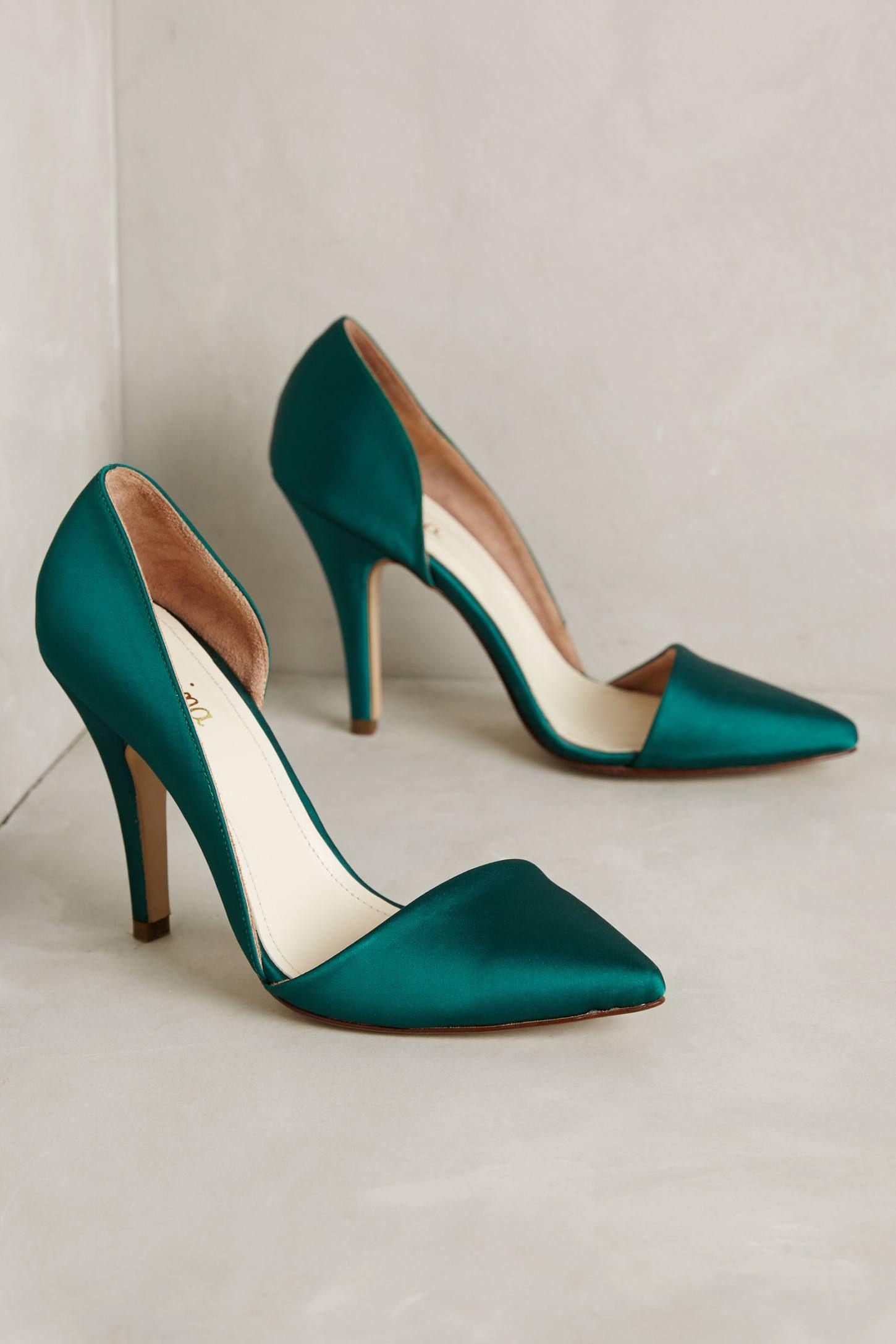 d542f7d4b Vanina Sienna Satin Pumps | Shoes.• | Shoes, Popular shoes, Shoe boots