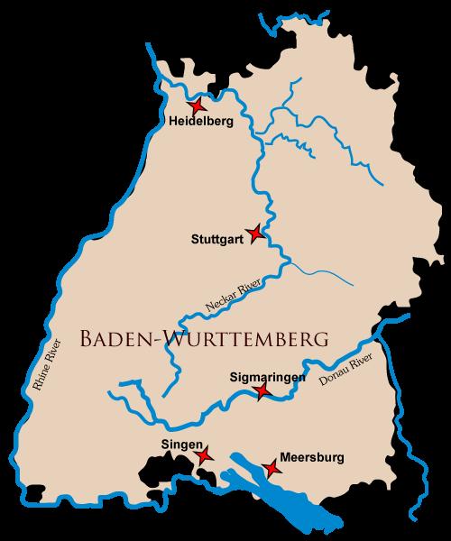 Castles In Baden Wurttemberg Germany Donau River Wurttemberg Sigmaringen