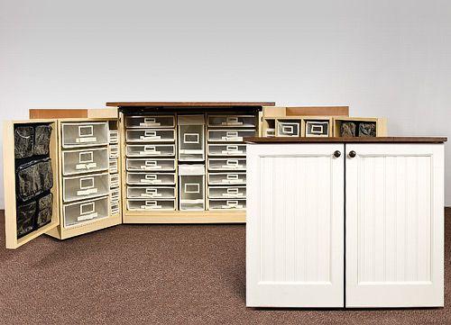 Good Craft Storage Furniture | Scrapbooking Furniture   Scrapbook Storage Room  Furniture .