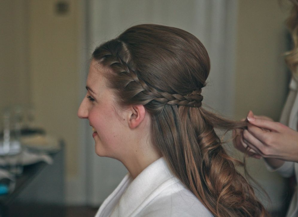 The Wedding Look Part Two Hair Wedding Looks Long Hair Styles Hairstyle