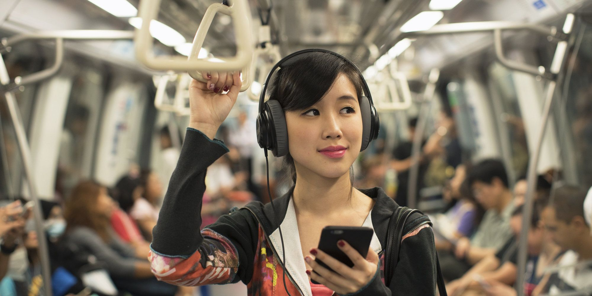 Wondering How To Talk To A Woman Who's Wearing Headphones? Don't.