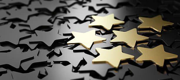 excellent customer service 6 golden stars scream Pinterest - excellent customer service