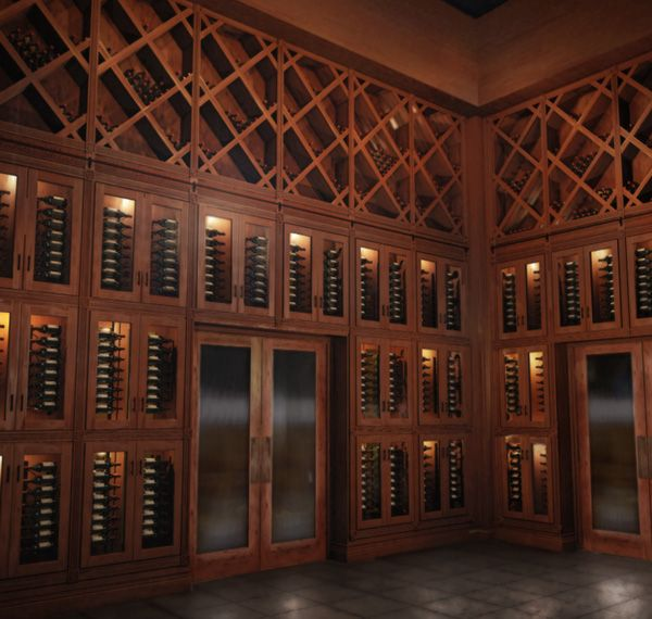 Amazing Wine Room Designed And Manufactured By Vigilant For Southern