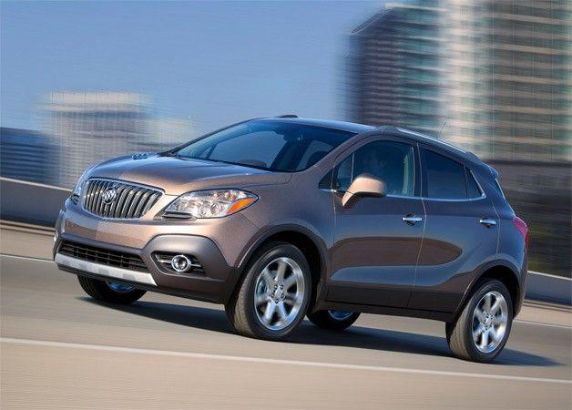 2013 Buick Encore Snags 25 Mpg City 33 Mpg Highway Epa Ratings