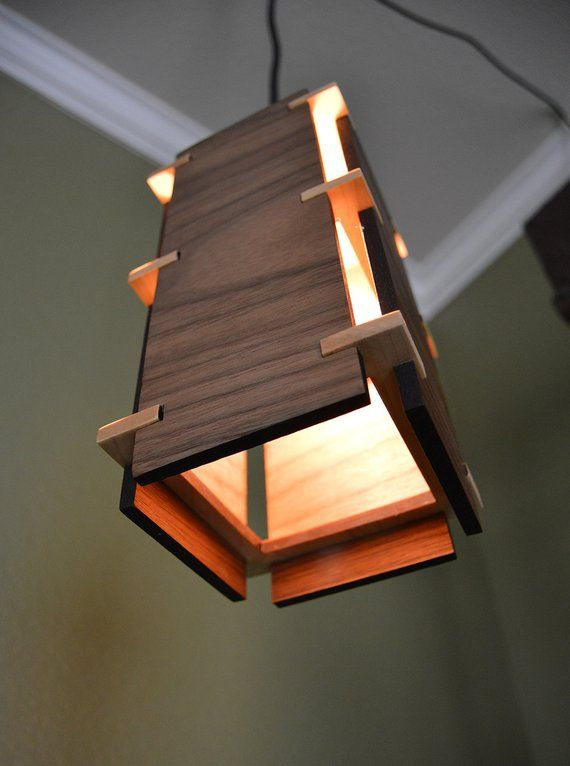 Wooden Pendant Light _Craftsman #pendantlighting