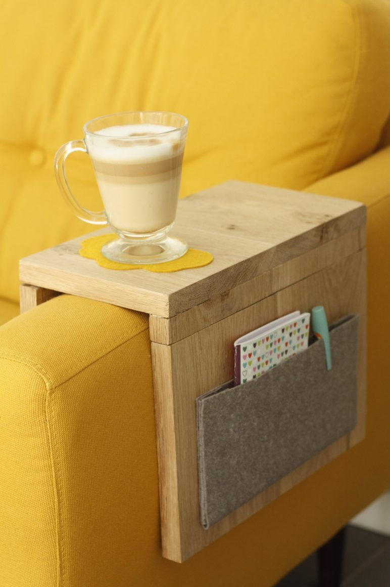 [DIY] Side table for sofa – Little Menina – Games from 3 years for positive education