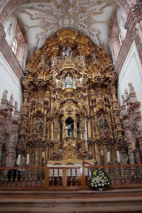 Templo La Valenciana , Guanajuato