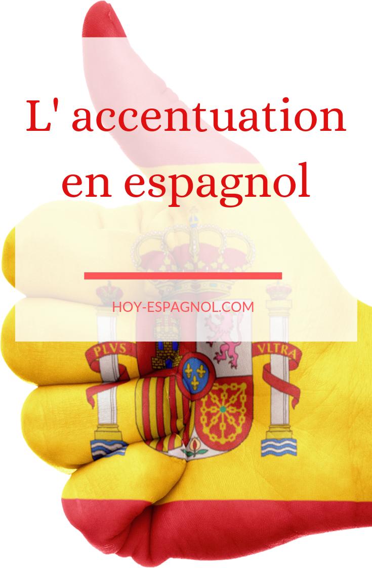 L'accentuation  accent tonique ou grammatical is part of El Conjugador Laccent Tonique - Dans cette leçon, vous apprendrez à bien placer les accents en espagnol  Qu'il soit écrit ou seulement prononcé, l'accentuation joue un rôle primordial