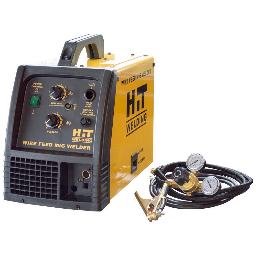 Hit Welding 140 Amp 120 Volt Mig Welder Welding Welders For