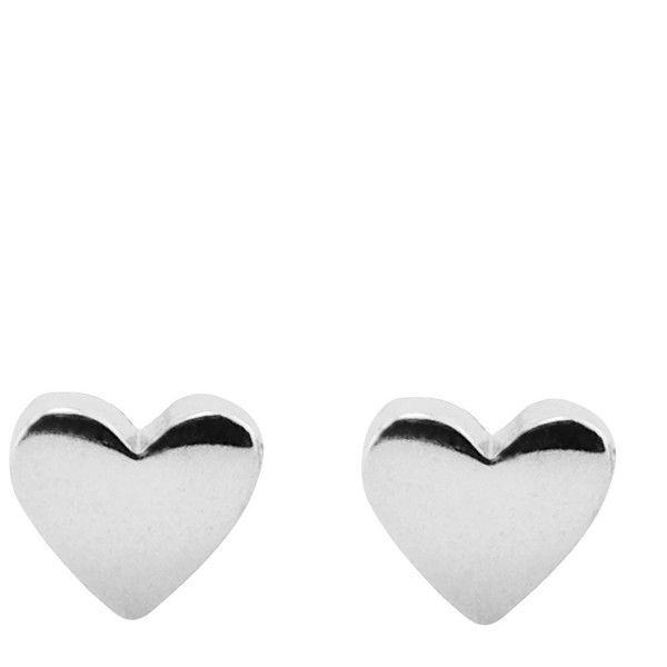Correy Lyon Australian Designer Sterling Silver Heart Earrings 58 Liked On Polyvore Featuring Jewelry Jewellery
