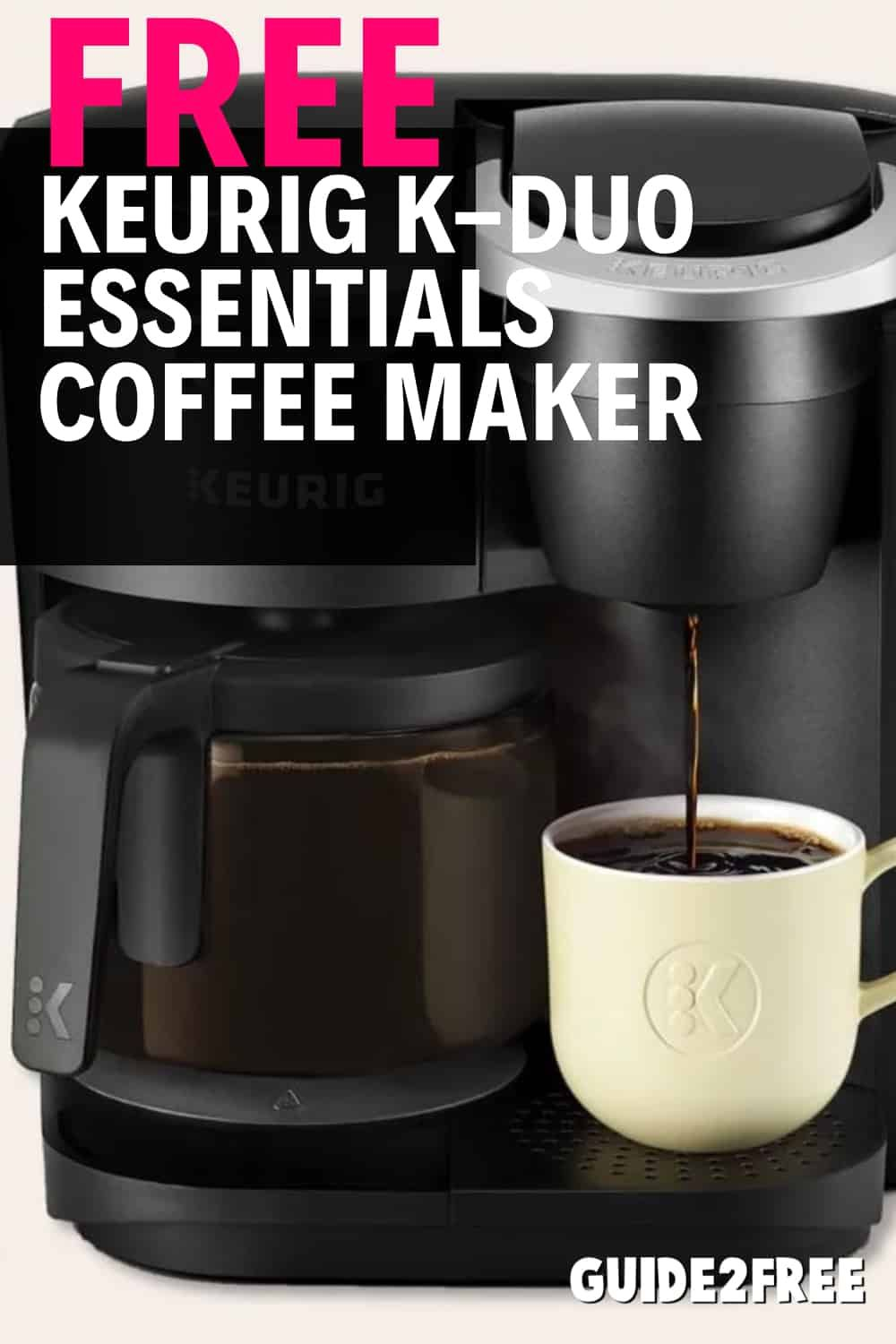 keurig duo coffee maker with carafe