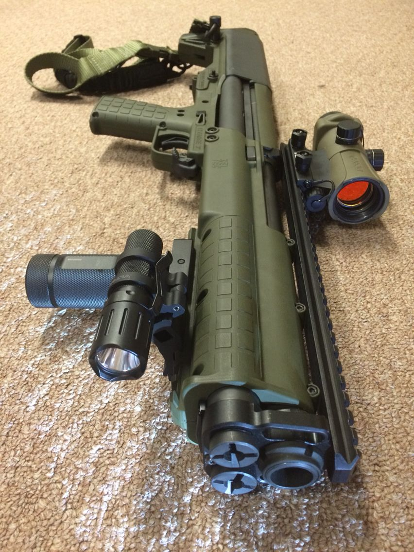 KSG shotgun, home defense, guns, 12gauge, tactical, light ...
