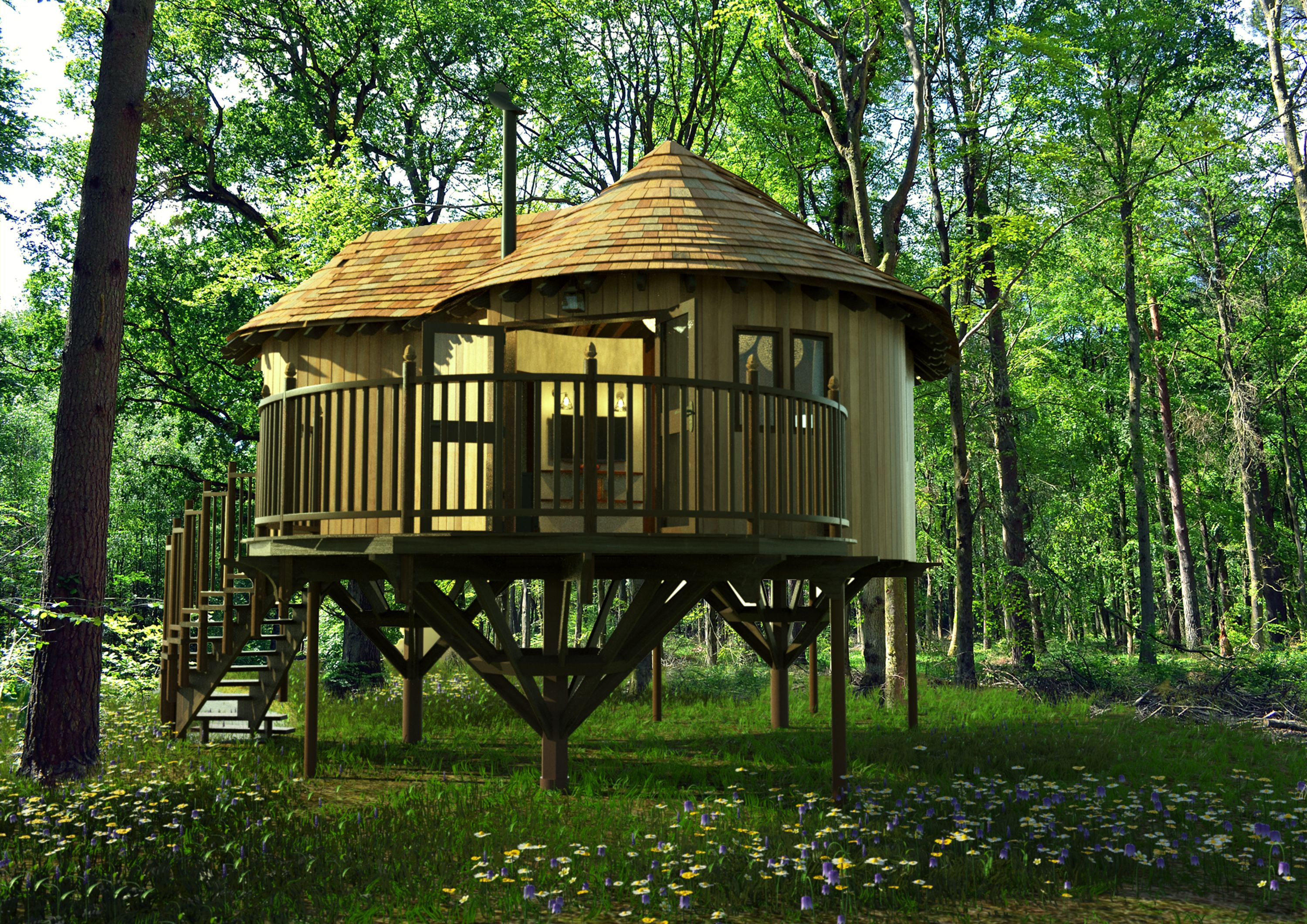Love Is In The Air With A Treehouse Wedding Venues Leicestershiretreehouse