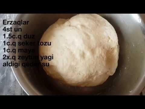 əsil Pizza Xemiri Italyan Pizza Xəmirinin Hazirlanmasi Youtube Food Hamburger Bun Bread