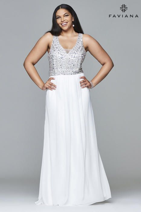 Faviana Curve | Plus Size Prom & Evening Dresses 2017 | Pinterest ...