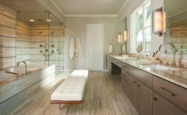 Badezimmer modern gestalten Ideen FLIESEN BAD Pinterest