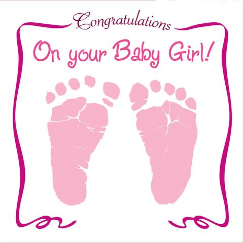 congratulations for the baby girl