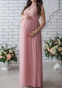 Kleid schwanger lang