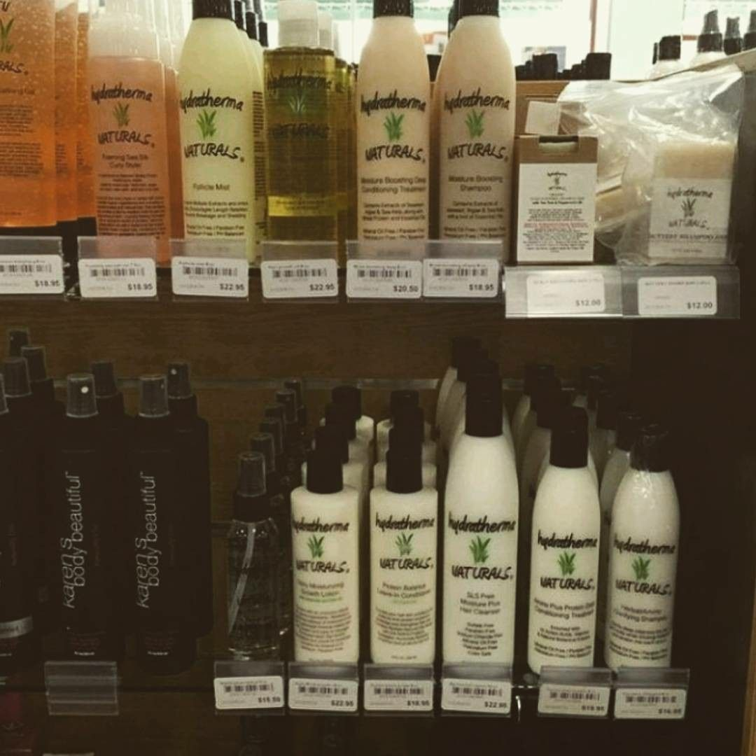 Hydratherma Naturals On The Shelves At Kirei Beauty To Our Awesome Hydratherma Naturals Customers In The Dmv Area Shampoo Bottle Little River Locations
