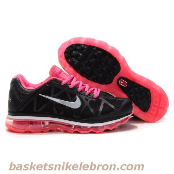 low priced d3596 078d1 Nike Air Max 2009 V Hommes Noir et Rose Air Max Homme