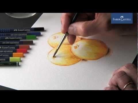 Watercolor Pencils Crayons Aquarellables Lapis De Cor