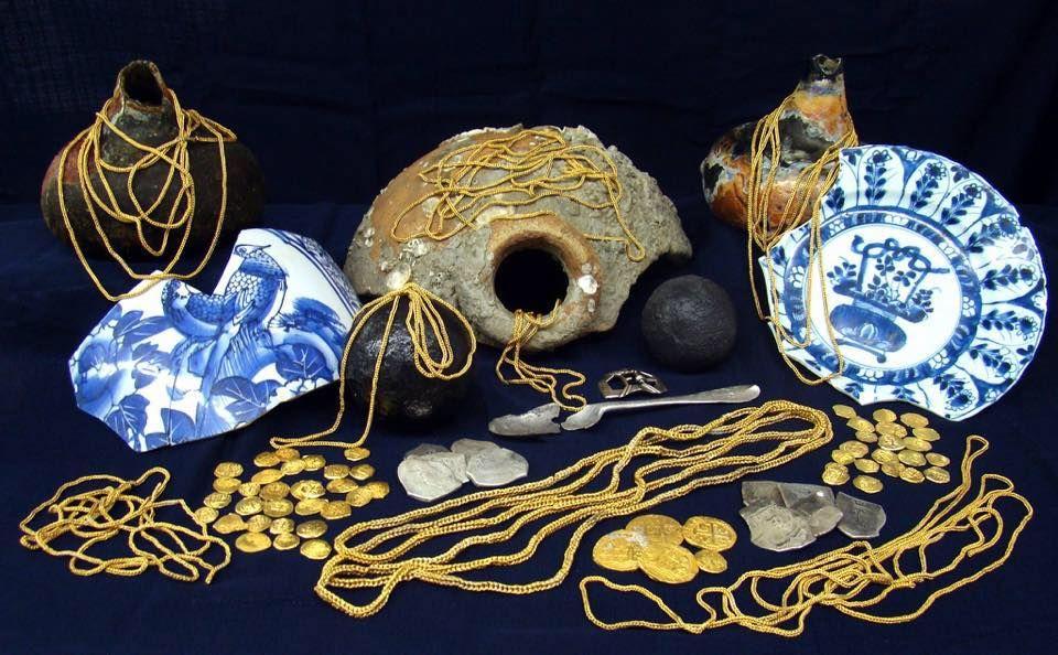 Milliondollar treasure found in florida shipwreck with
