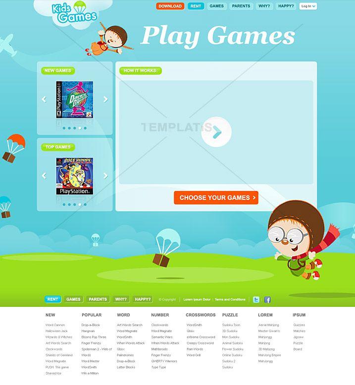 Rental Search Websites: Kids Website Templates - Google Search