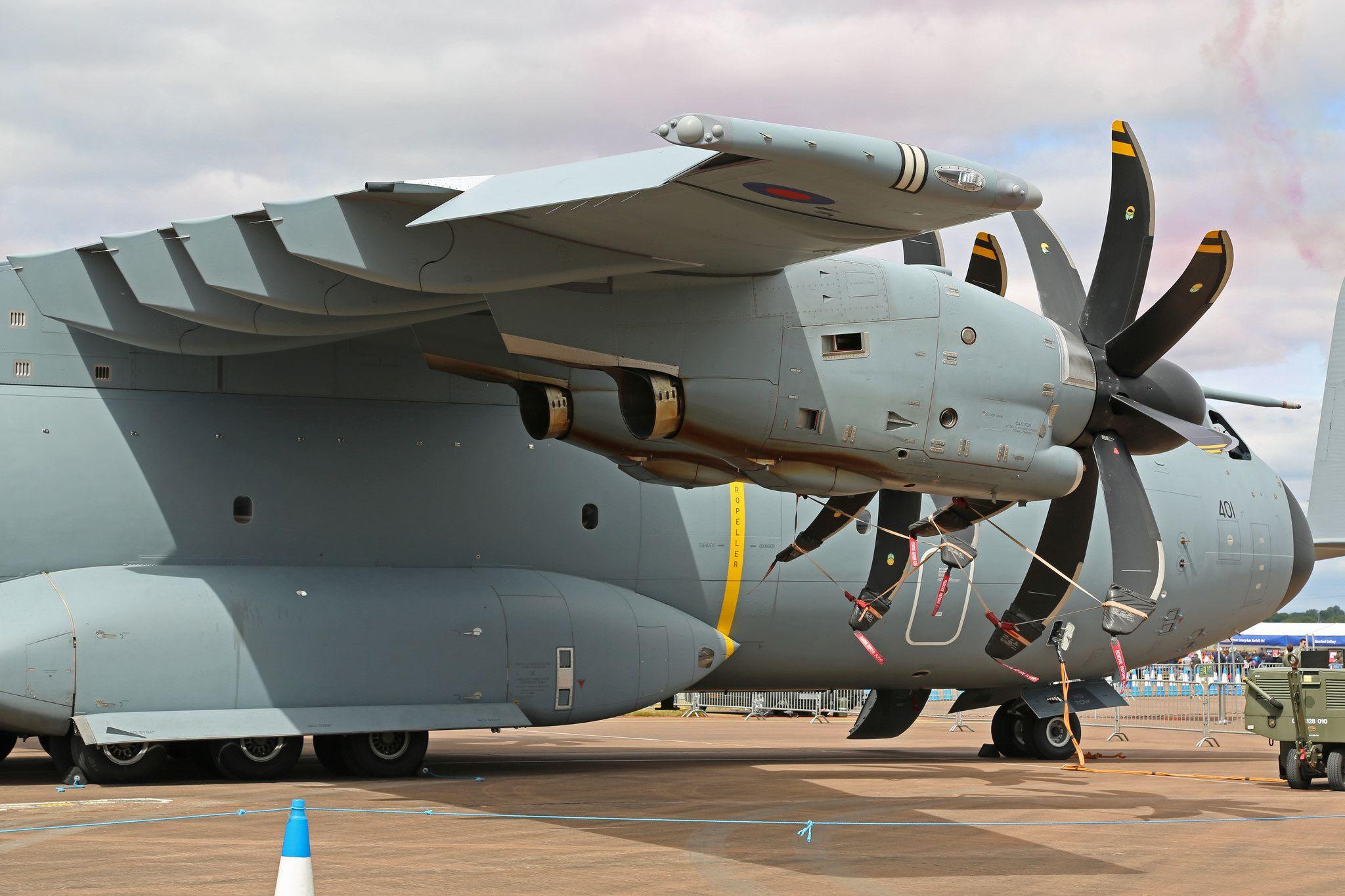 ZM401 Airbus A400M Atlas C1 Royal Air Force Closeup RAF