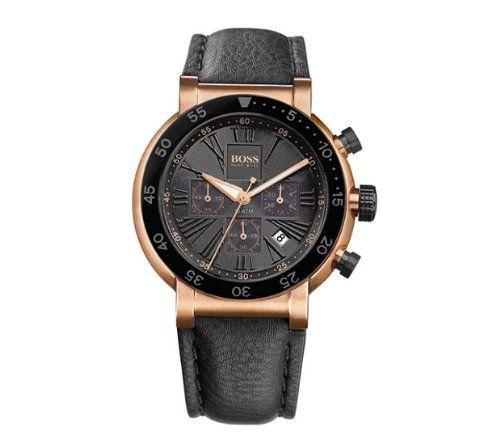 Geschlecht : Herr - Stil : Mode - Form : rund - Farbe : Schwarz - Material : Leder - Maße : 40 mm - Uhrwerk : Quarz - Wasserdichtigkeit : 10 atm - Glas : Mineral - Dicke : 10 - - Technische Daten : Stoppfunktion