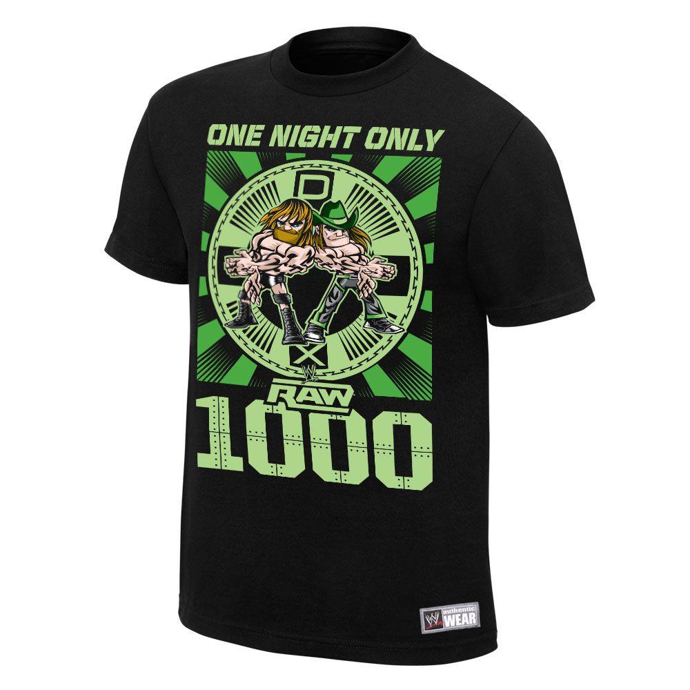 d9727143 DX Raw 1,000 T-Shirt Men's T-Shirt - WWE | Clothes | Men, Mens tops ...