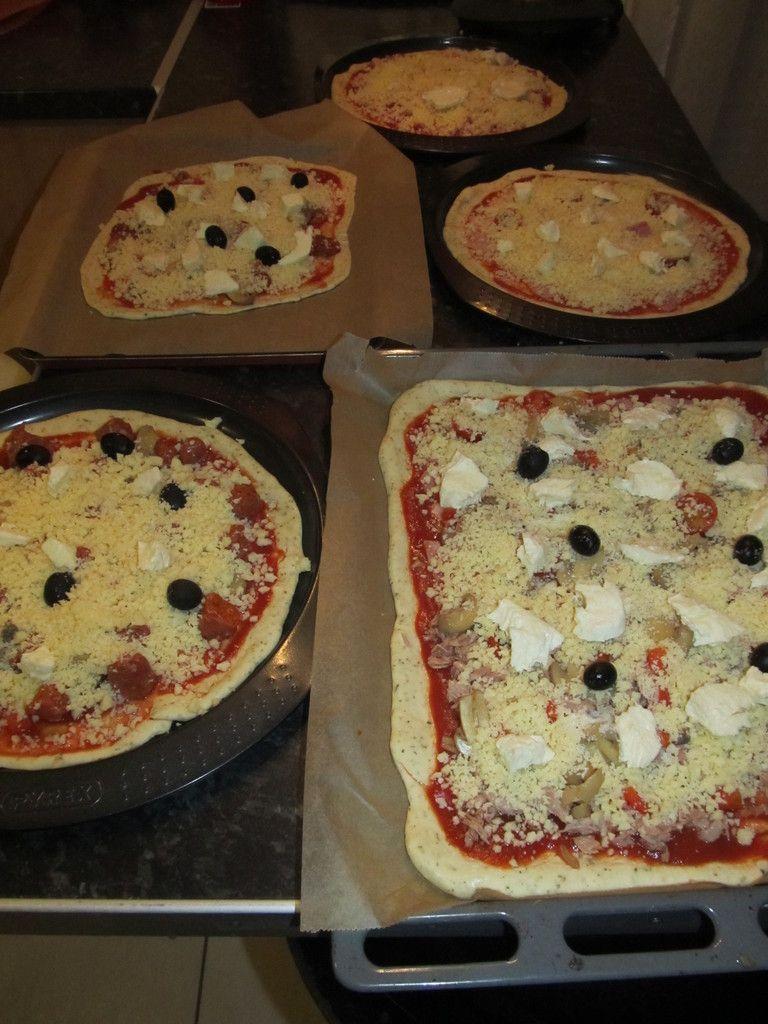 Pâte a pizza au thermomix - A table avec doro #recettemonsieurcuisinesilvercrest