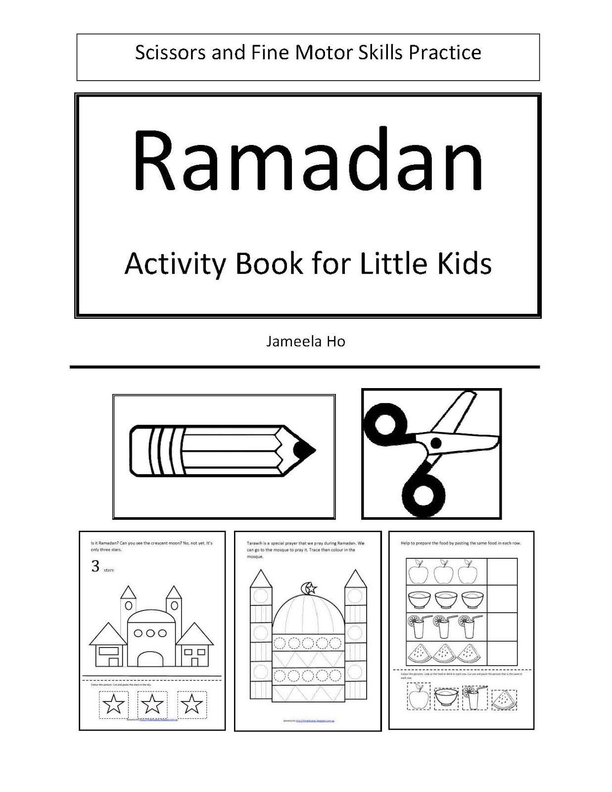 ilma educations eduparenting free download ramadan activity book for little kids - Kids Activities Book