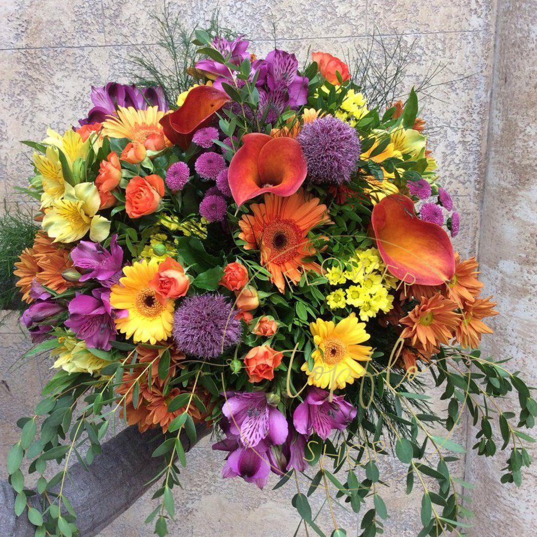Фото цветов букетов день рождения