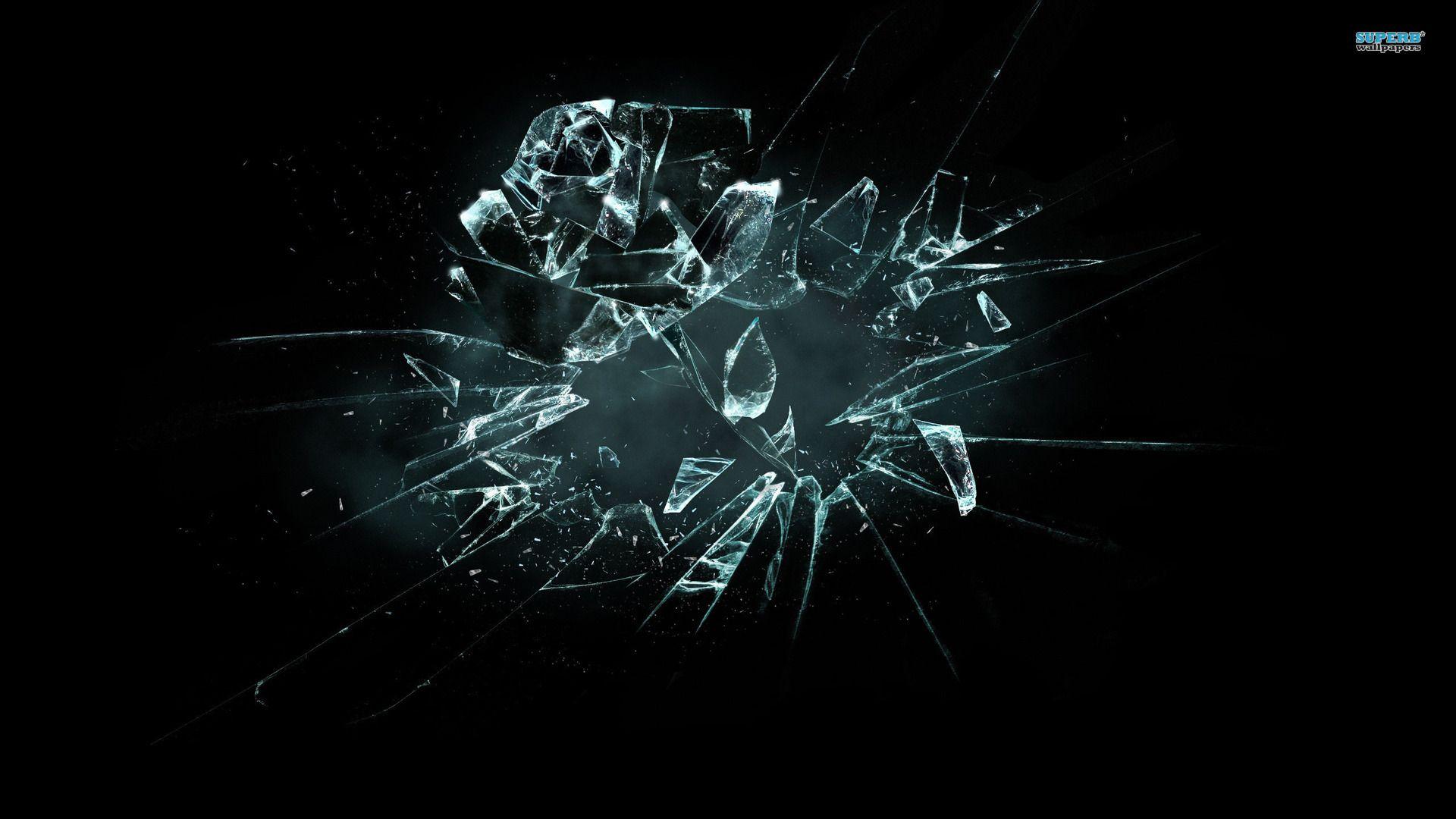 It S All Just Broken Glass Wallpaper Wallpaper Backgrounds Glass