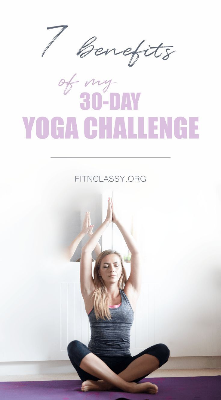 How Completing a Day Yoga Challenge Helped Me Benefit From Yoga