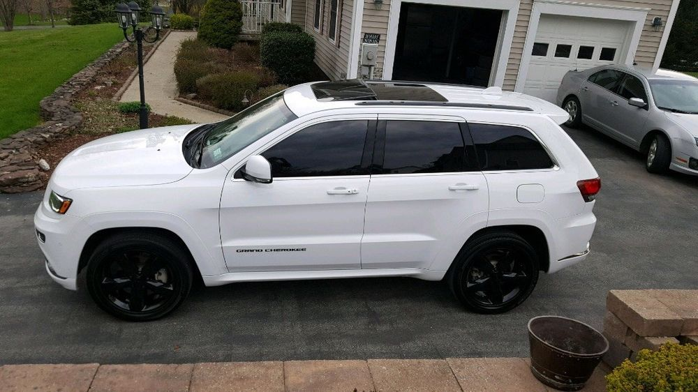 Ebay 2016 Jeep Grand Cherokee Overland High Alude Hemi V8 1 Owner Extended Jeeplife