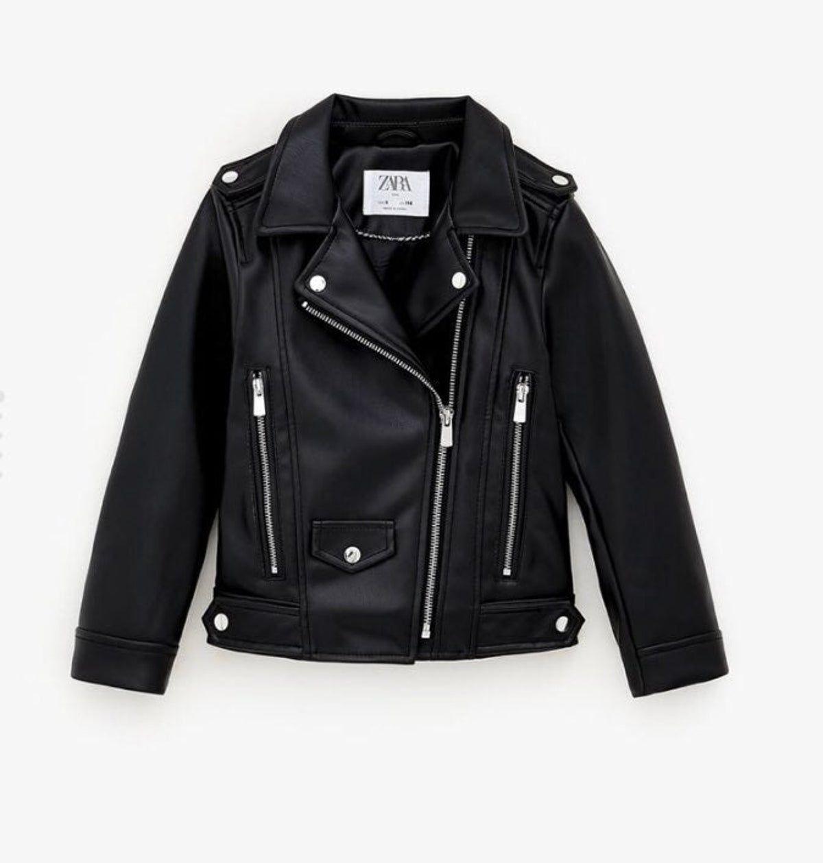 Zara Kids Biker Jacket Size 10 In 2021 Faux Leather Biker Jacket Leather Jackets Women Zara Leather Jacket [ 1259 x 1200 Pixel ]