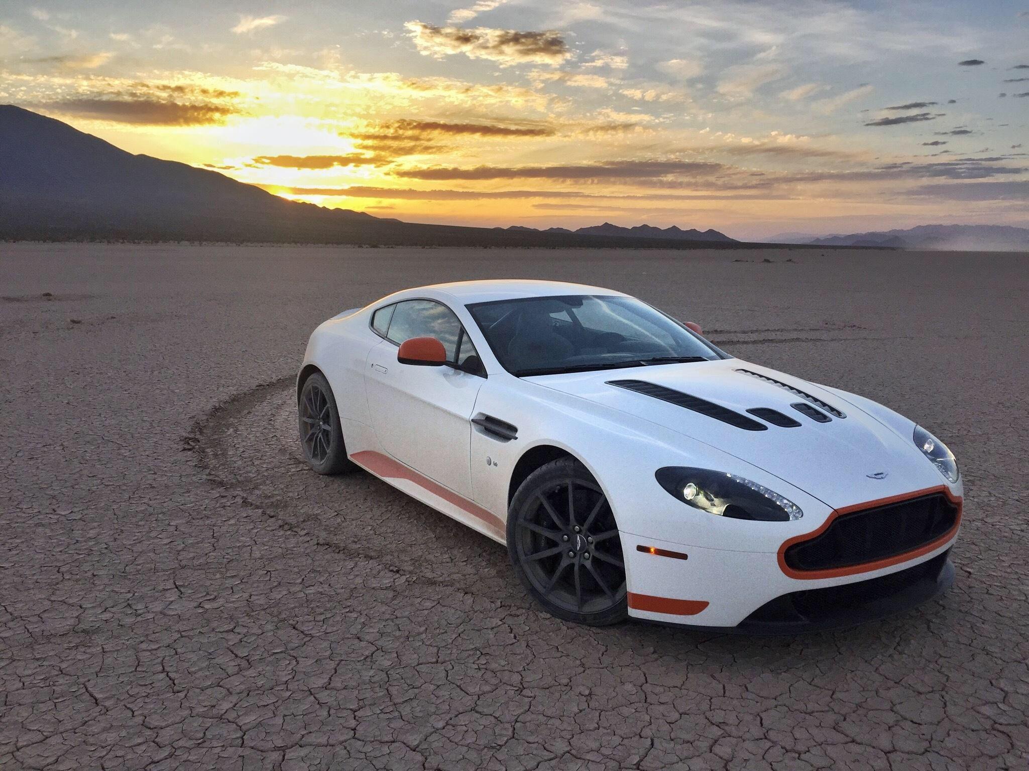 2017 Aston Martin V12 Vantage S Dogleg First Test Sports Car Vs