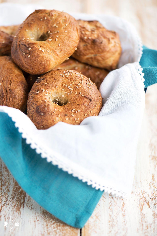 Bagels + Tip für Hefeteig (Blog Highfoodality)