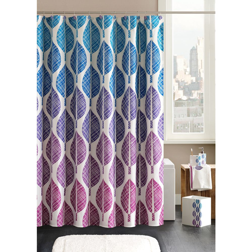 Madison Park Central Park Shower Curtain And Ring Set | Overstock.com  Shopping   Great