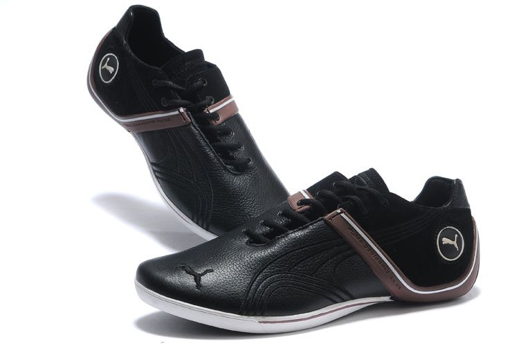 0af864cd3cc Mens Puma Low Claasic Ferrari Stylish Sneakers Shoes Black Coffe ...
