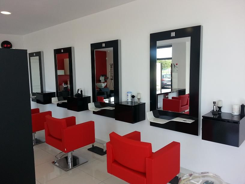 Epingle Sur Salon De Coiffure