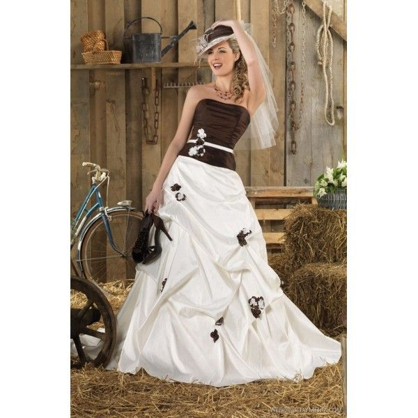 point mariage - gange - romántica | vestidos de novia con color