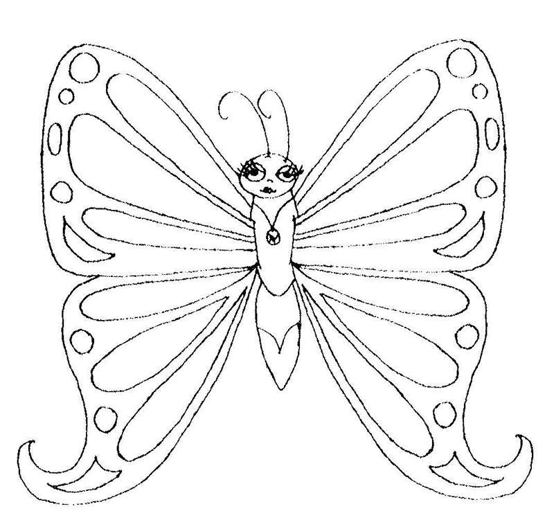 butterfly coloring sheets free - Nuruf.comunicaasl.com