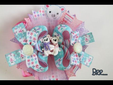 youtube how to make a hair bow
