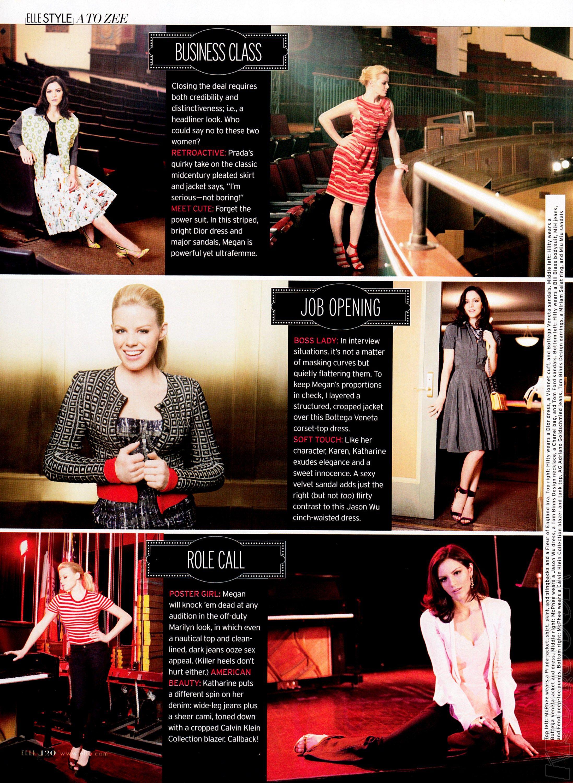 This Month S Elle Magazine Features Smash Ladies Megan
