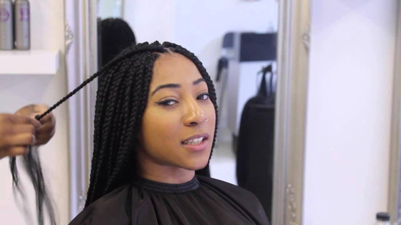 An Easy Daily Regimen For Healthy Braids Kinkycurlycoilyme Hair Braiding Salon Braiding Salons Near Me Natural Hair Styles