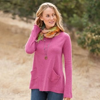 Perfect Trapeze Pullover in Winter 2013 from Sundance on shop.CatalogSpree.com, my personal digital mall.