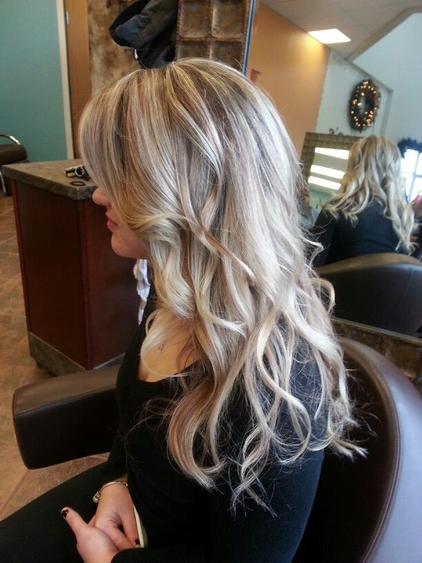 Hair Color Ideas For Blondes Lowlights : Blond highlights with mocha lowlights blonde