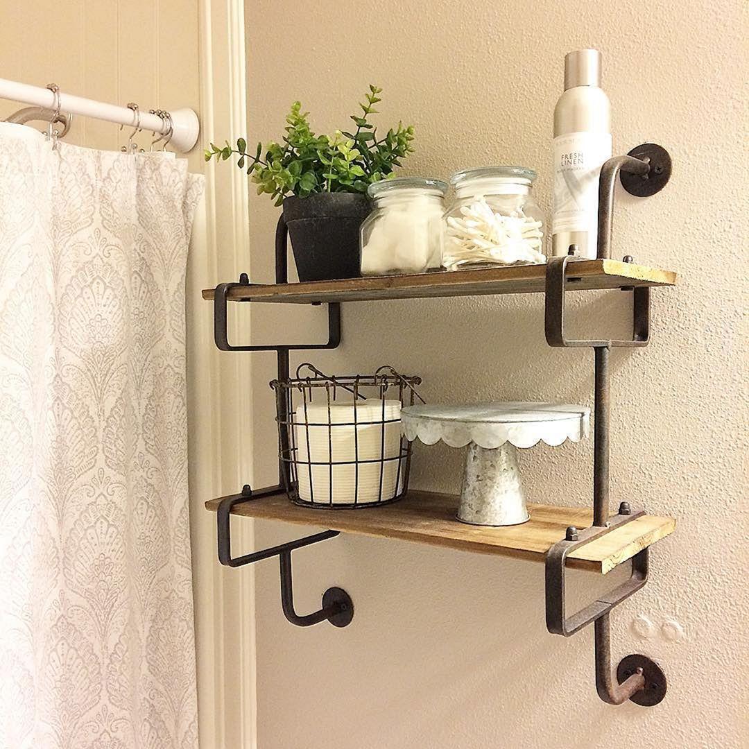 10 unique diy bathroom shelf design ideas you must try